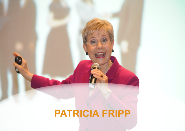 Patricia Fripp with Derek – Speaking To Any Size Audience, from 1 upwards