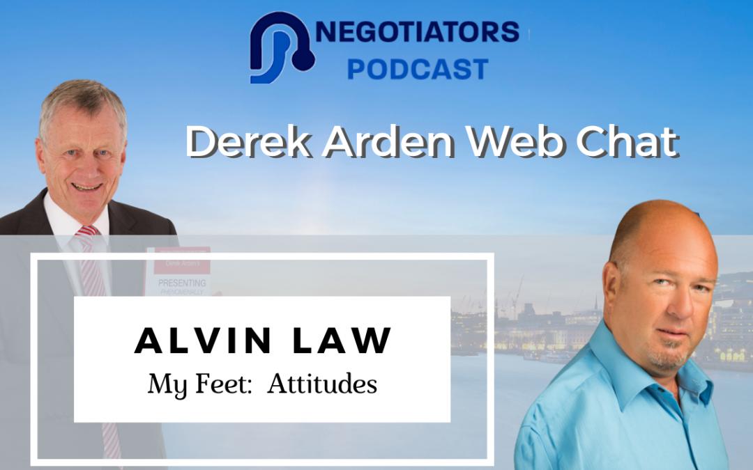 alvin law feet and attitude