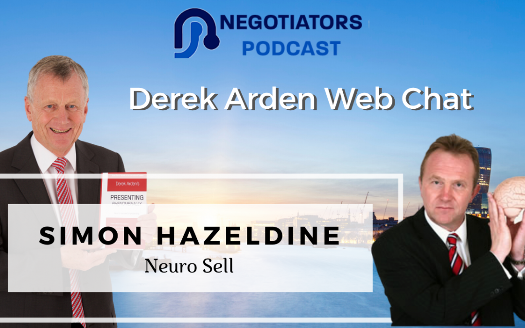 Neuro Sell – Derek Arden Web Chat With Simon Hazeldine