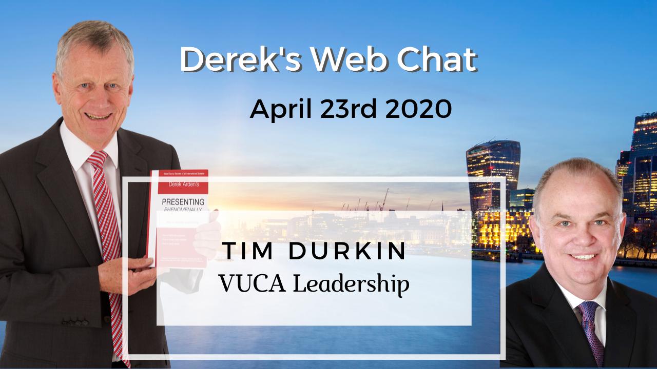 Tim Durking podcast VACU Leadership