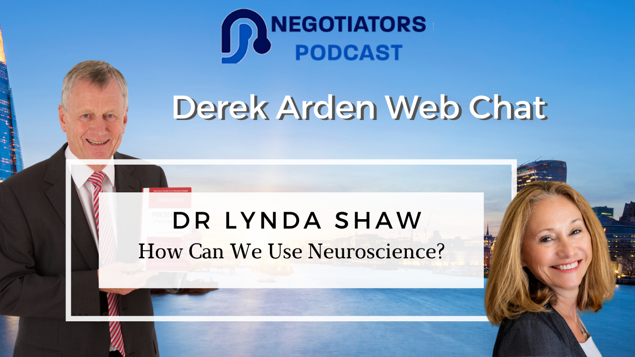 Dr Lynda Shaw and Derek Arden web chat about neuroscience