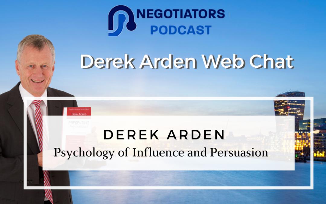 Influence Derek Arden