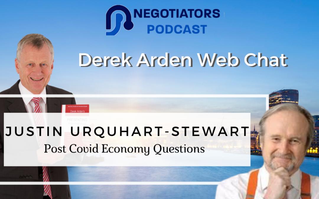 Derek Ardem web chat with Justing Urquhart-Stewart