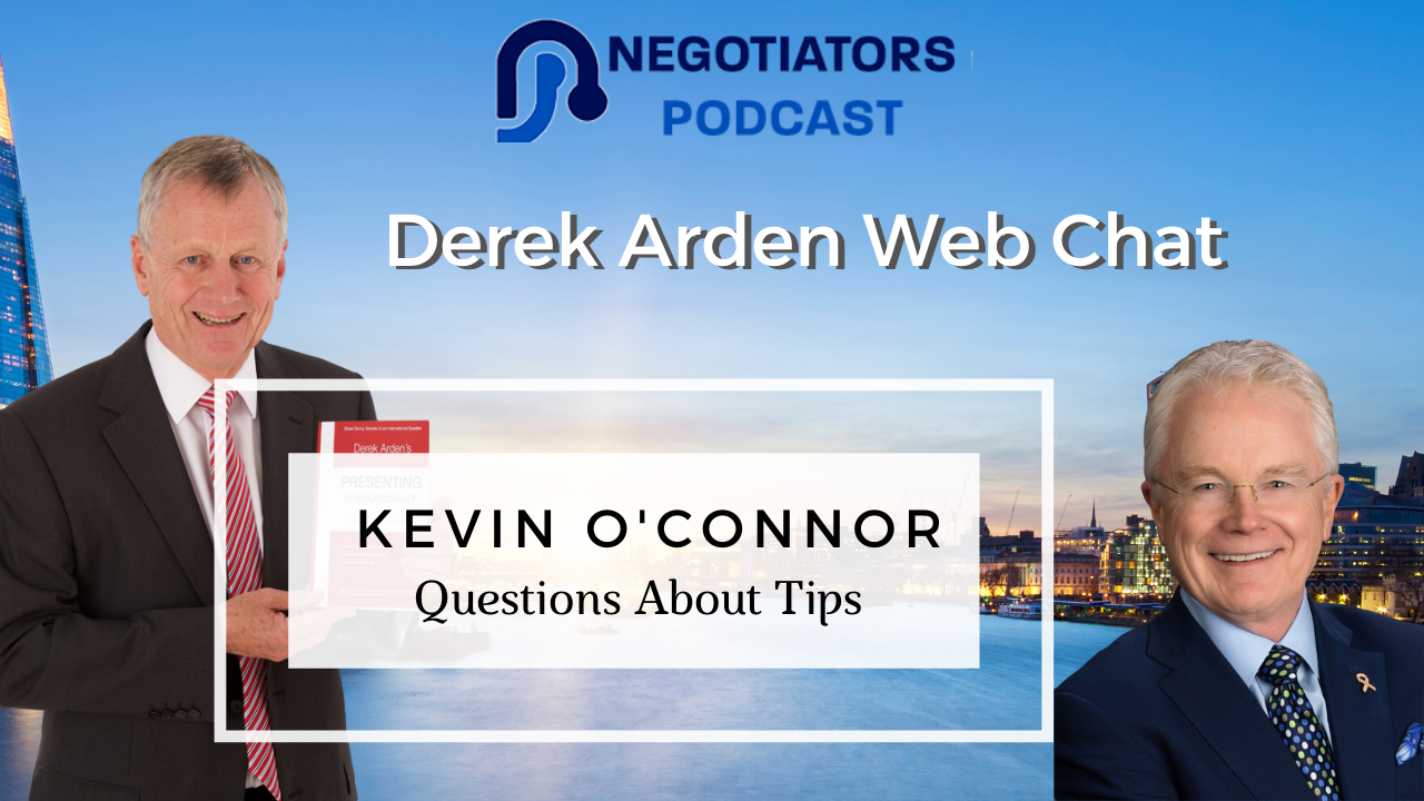 Kevin O'Connor Question about Tips