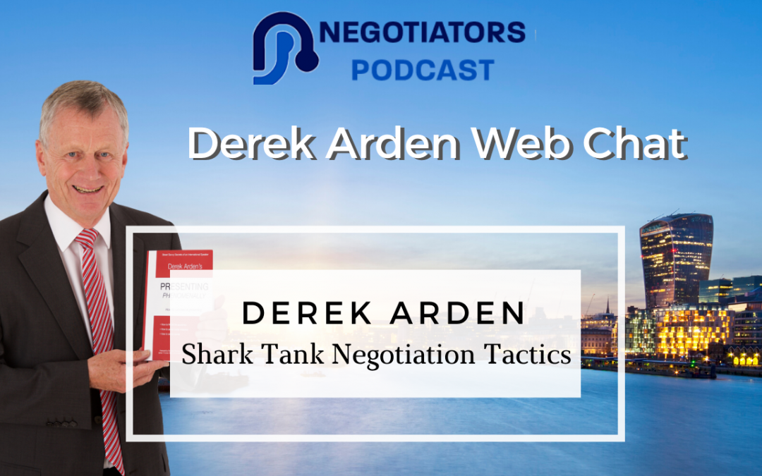 Shark Tank Negotiator Tactics