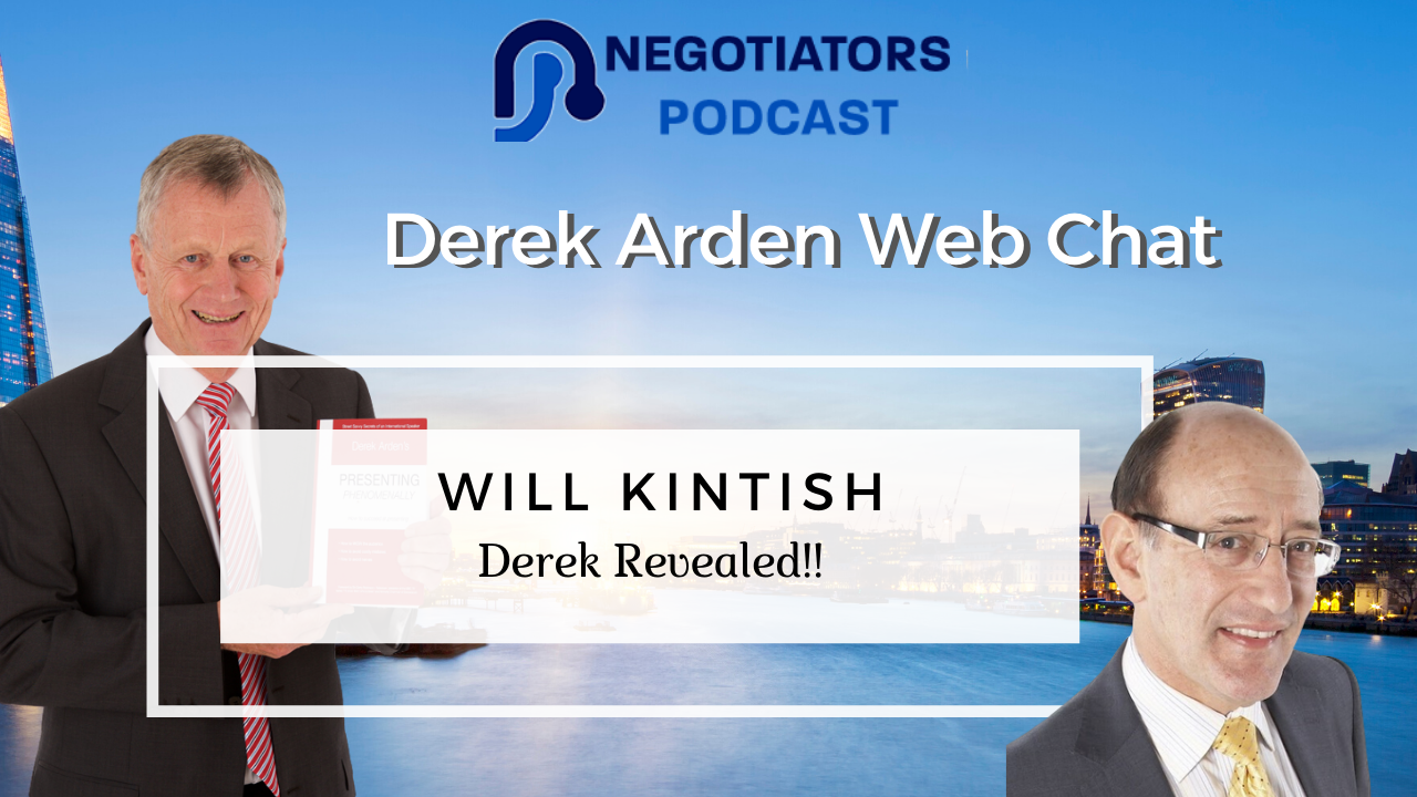 Derek Arden Interviewed by Will Kintixh