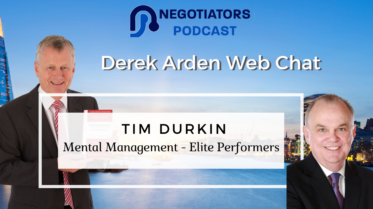 Derek and Tim Durkin web chat about Elite Performers
