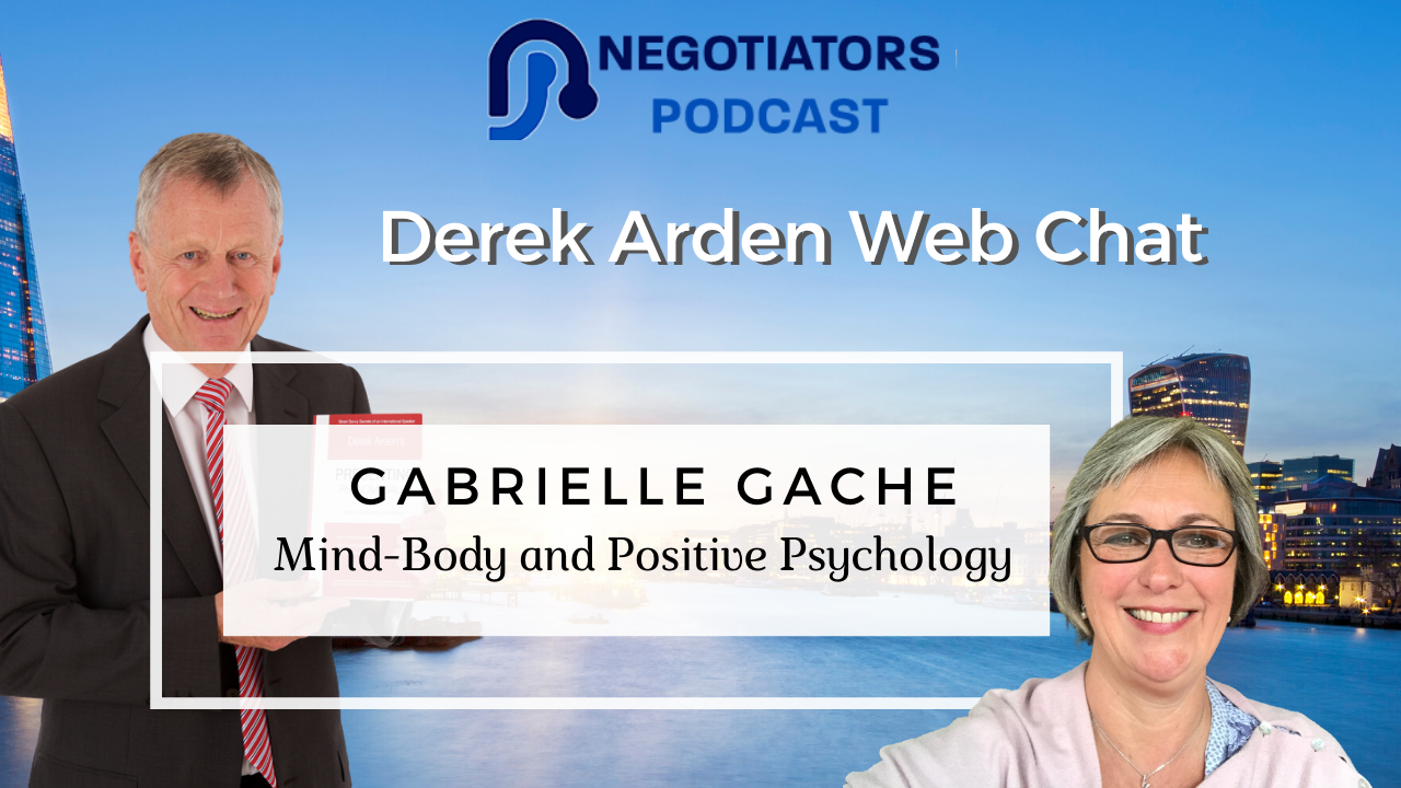 Gabrielle Gache and Derek Arden Mind Body Positive Psychology