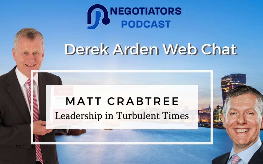 Leadership Coaching Matt Crabtree and Derek Arden discuss