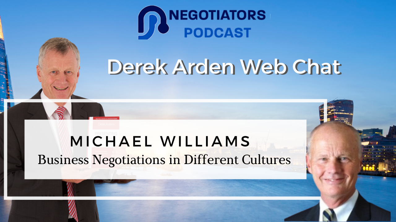 Michael Williams with Derek Arden Busienss in different Cultures