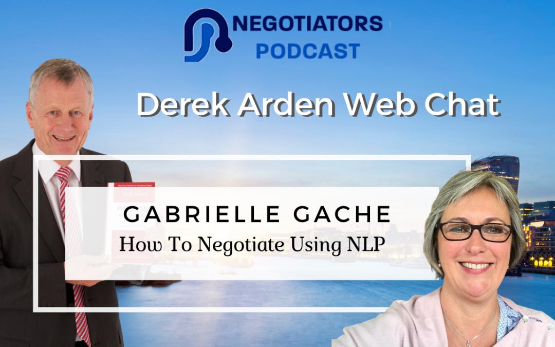 Derek Arden and Gabrielle Gache duscuss NLP use in Negotiations