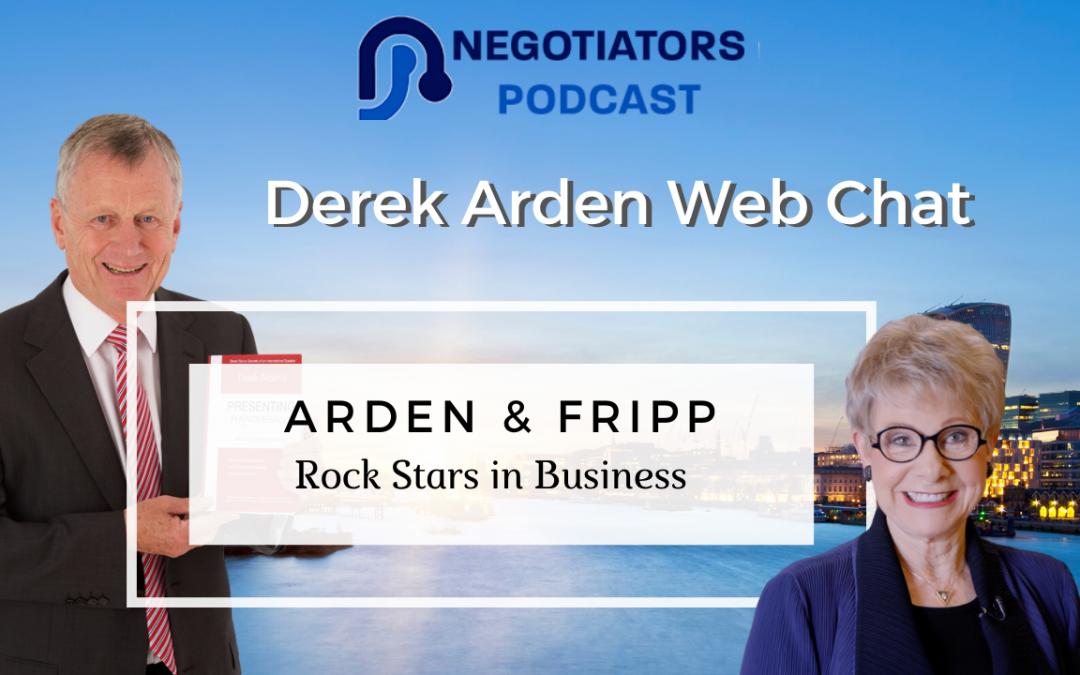Rock Starts in Business Derek Arden and Patricia Fripp