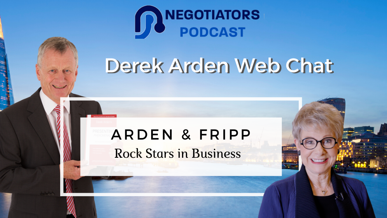 Rock Starts in Business Derek Arden and Patricia Fripp