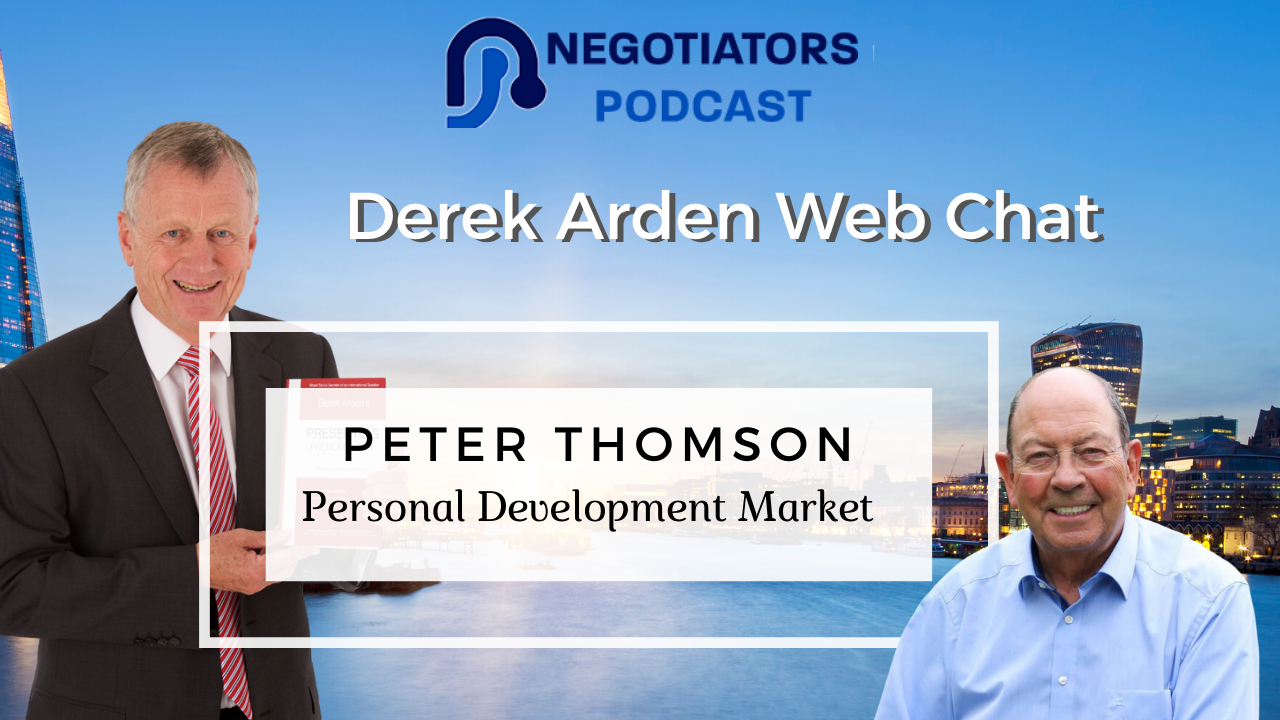 Peter Thomson and Derek Arden Personal Development Marketing