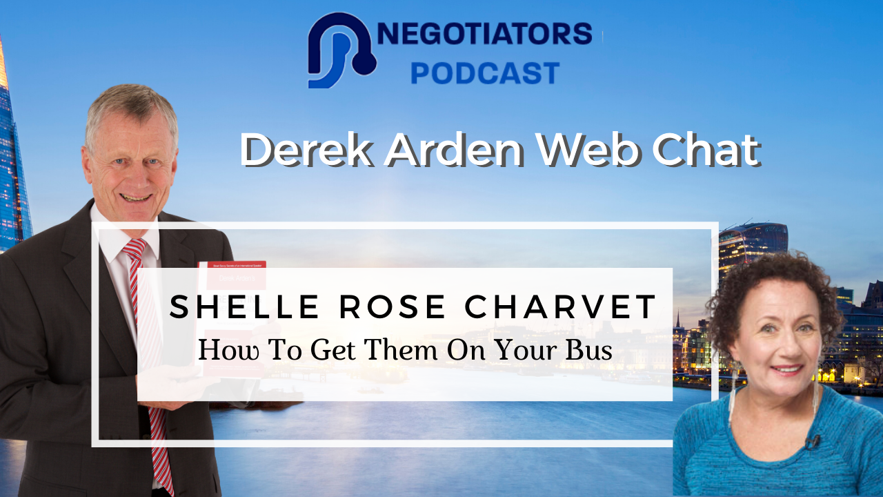 Derek Arden interviews Shelle Rose Charvet