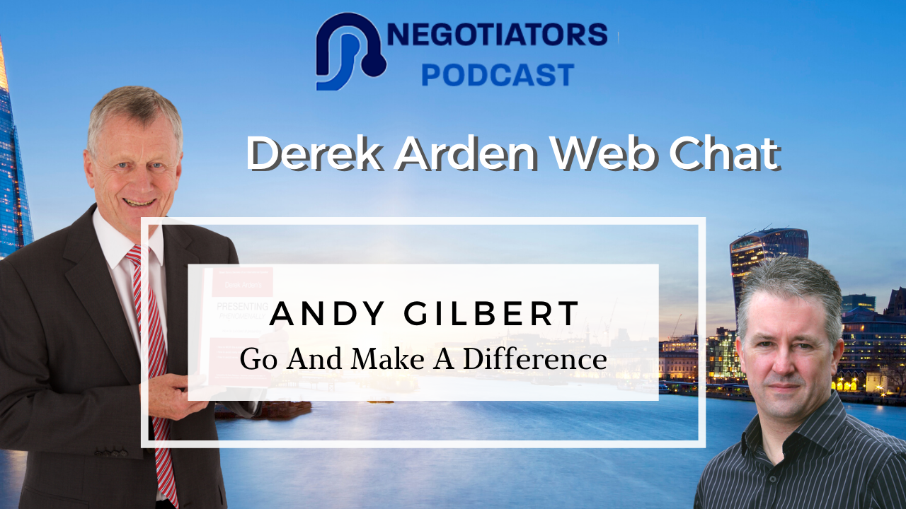 Andy Gilbert Making a difference