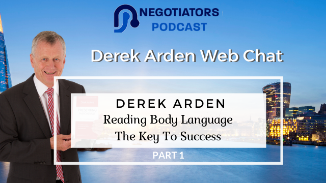 Reading Body Language – Derek Arden