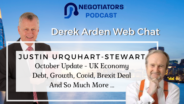 October Market Update – UK Economy Debt, Growth, Covid, Brexit Deal And More