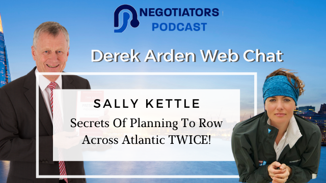Web Chat Derek Arden with Sally Kettle About Rowing The Atlanitic