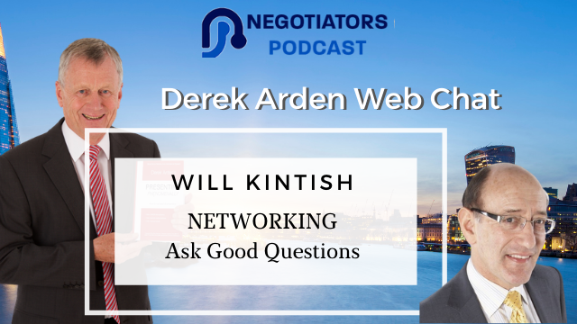 Networking ask good questions