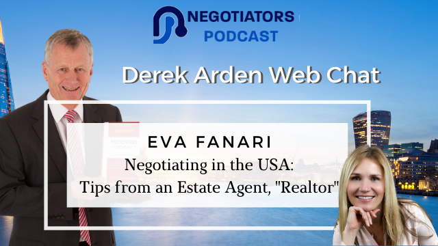 "Negotiating in the USA – Tips from an Estate Agent, ""Realtor"" – Eva Fanari"