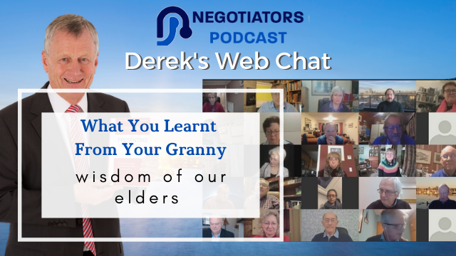What You Learnt From Your Granny – Wisdom Of Elders