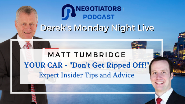 Your Car – Expert Insider Tips and Advice – Matt Tumbridge