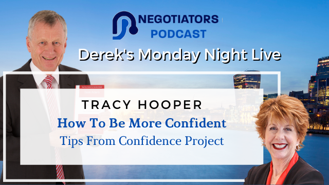 How to be more confident - Tracy Hooper