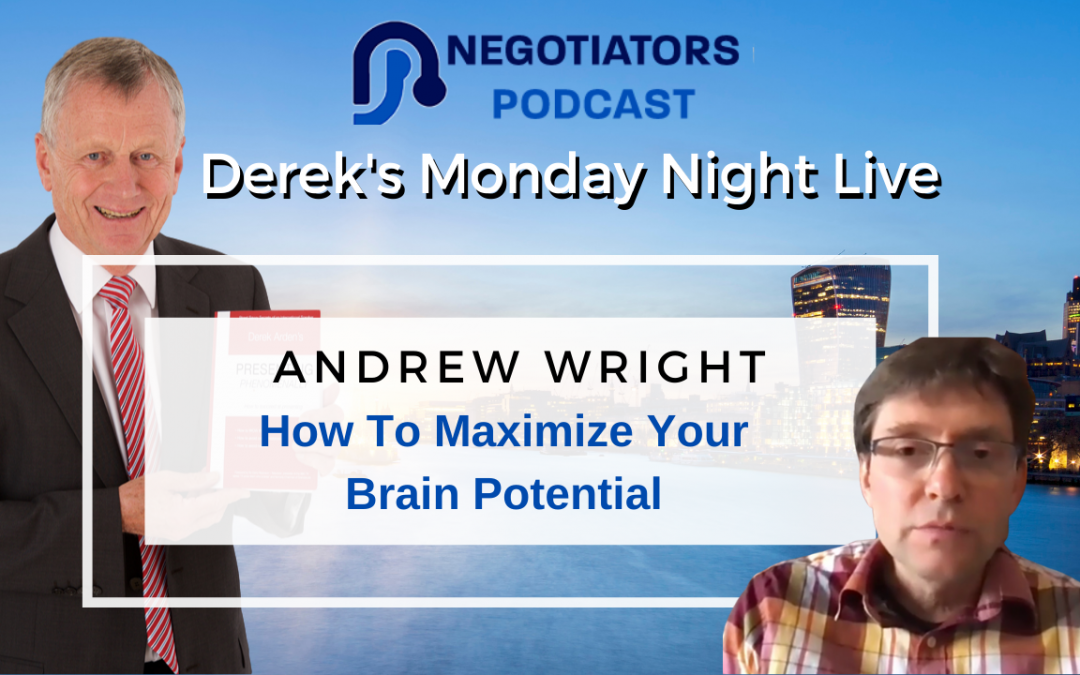 How To Maximize Your Brain Potential – Andrew Wright