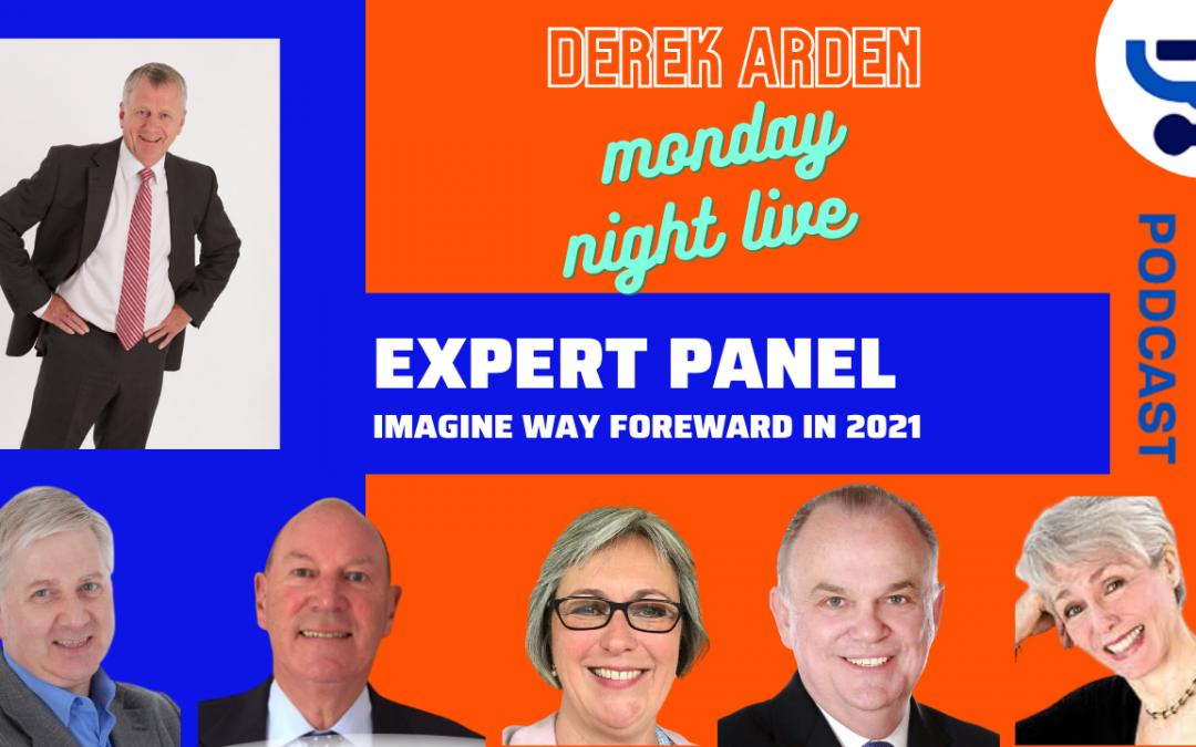 derek with expert panel